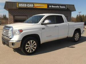 2015 Toyota Tundra Limited 5.7L Double Cab 4WD Peterborough Peterborough Area image 1