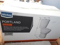NEW Wikes Portland Toilet