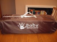 Babyweaver travel cot