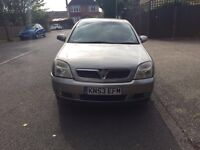 Automatic Vauxhall vectra elegance for sale, very low mileage, very long MOT, drives well.