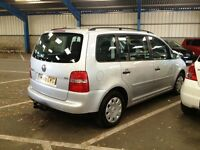 2005 VOLKSWAGEN TOURAN 1.9 TDI ** 7 SEATER ** ONLY 1 FORMER DOCTOR OWNER + FULL SERVICE HISTORY