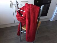 Lipstick Red Scarf from Korea