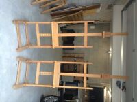 Two MABEF Atelier artists' studio easels - unused for painting