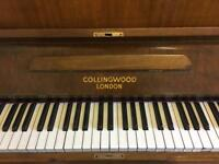 Collingwood London piano for sale