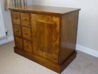 Laura Ashley Storage Cabinet - Garrat Range - Dark Chestnut