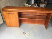 G Plan Cocktail unit. Top piece for Sideboard.