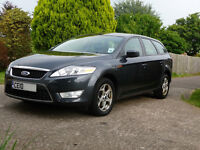 Ford Mondeo Zetec TDCI 140 estate. Diesel. 2010. Low mileage. 91k. Great Condition. Bargain.