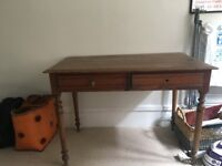 Antique Georgian Wooden Writing Desk