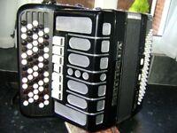 delicia chromatic accordion 80 bass c system