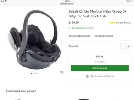BESAFE Car Seat and ISOFIX Base 12 Month Old