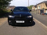 2008 58 BMW X6 3.0d m sport xdrive 2 keys PRIVCY glass parking seniors PRIVCY glass bargin£10500