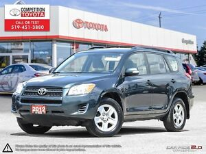 2012 Toyota RAV4 One Owner, No Accidents, Toyota Serviced