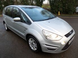 2010 FORD S-MAX 2.0TDCI ZETEC 140**FINANCE AVAILABLE**7 SEATS