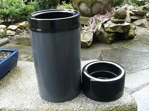 rohrskimmer koi pond filter skimmer gravity 110 160mm ebay