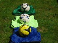 Mire & Diamond Footballs Size 4. Junior balls.