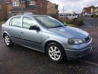 Vauxhall Astra 1.4 2005 FULL YEARS MOT (only 69000 miles) Immaculate as Corsa Fiesta Focus Clio Golf