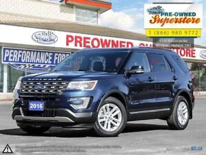 2016 Ford Explorer XLT>>>leather, Captain's chairs, NAV<<<