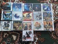 Games for 3DS and DS - Prices listed Below