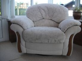 Two recliner used chairs