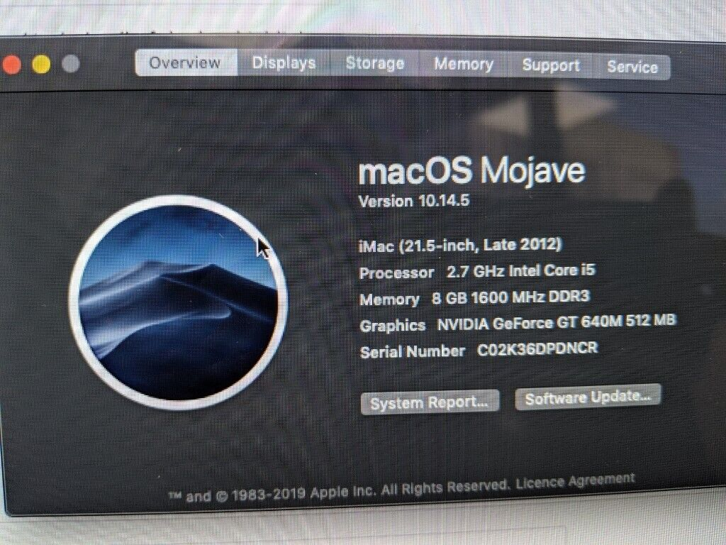 iMac 21 5-inch, Late 2012, Slim, Retina, 1TB, 8GB, i5, Nvidia 512 | in  Oxford, Oxfordshire | Gumtree