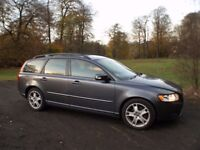 Volvo V-50 2-ltr Diesel Estate late 2008 (Price Drop) in beautiful gun metal grey with low mileage