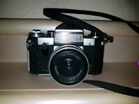 Praktica super TL old film camera