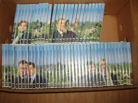 Midsomer Murders Collection 1-64 dvd