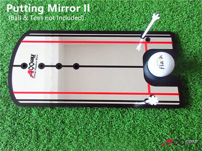 A99 Golf Putting Mirror II New Training Alignment Aid with Bag Golf Training Mirror