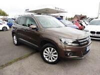 VW Tiguan MATCH TDI BLUEMOTION TECHNOLOGY 4MOTION (brown) 2015