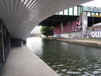 Stunning and spacious canal-side 2 bed 2 bath apartment