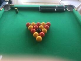 Mini Snooker & Pool set