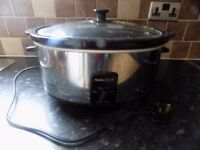MORPHY RICHARDS 6.5 L SLOW COOKER ,GREAT CONDITION