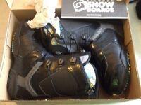 Burton / Salomon sz9 uk snowboard boots