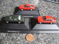 BMW Alpina models B10, B11, B12, 850, 7 series and 5 series.