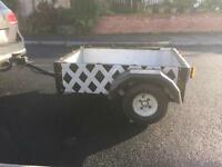 Fully refurbished car trailer