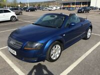 2004 AUDI TT ROADSTER [150 BHP] / NEW MOT / PX WELCOME / LOW MILES / WE DELIVER