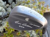 Cleveland Tour Action 900 Low Bounce 58 Lob Wedge with Dynamic Gold Stiff Wedge Flex Shaft