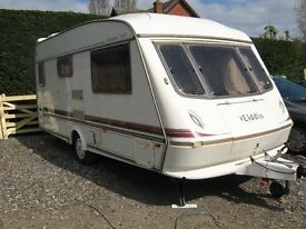 elddis hurricane g.t.x 16ft touring caravan with every thing £2500 o.n.o.