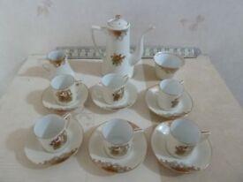 Noritaki tea set 15 pieces