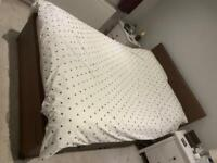 FREE - Double Ottoman Storage Bed and Mattress