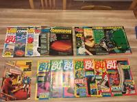 Vintage Retro Commodore Magazines Great Christmas Gift