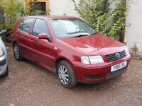 VW POLO 2001 1.4 LTR PETROL 1 YEAR FRESH MOT CLEAN CAR 119000 MILES!!!
