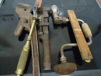 job lot of old tools