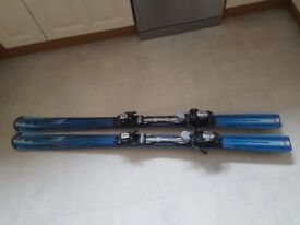 Atomic Nomad skis with bindings, 156 cm.