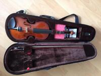 Violin 1/2size with case