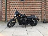Harley Davidson Street XG 750 Matt Black 2016