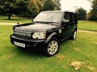 Landrover Discovery 4 XS GREAT CONDITION, Black, Full Leather!
