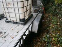 mini digger trailer