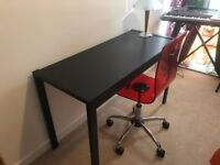 Used Black Desk