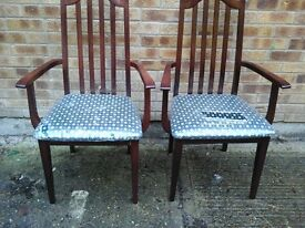 2 new carver chairs